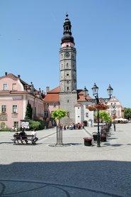 Bolesławiec, rynek z ratuszem